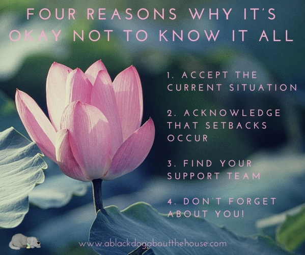 Four Reasons Why It's Okay Not to Know it All POST